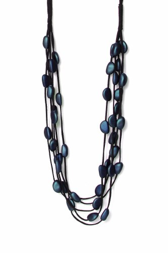 Envy Multi Fabric Strand Necklace