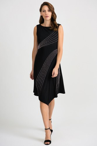 Joseph Ribkoff Studded Dress (201124)