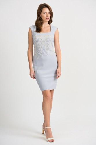 Joseph Ribkoff Pearl Dress (201218)