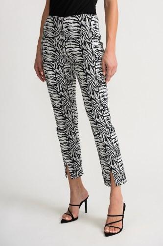 Joseph Ribkoff Zebra Trousers (202394)
