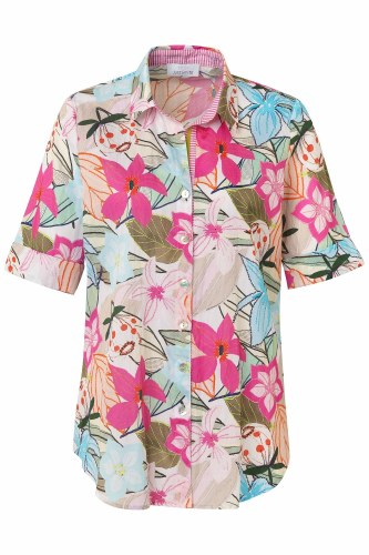 Just White Orchid Shirt