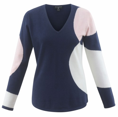 Marble Oval Jumper