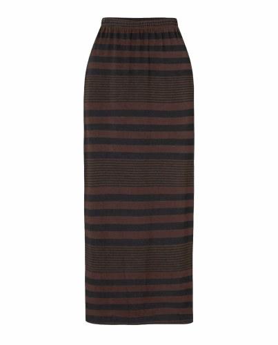 Sahara Stripe Tube Skirt