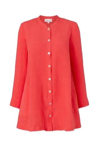 Sahara Linen Nehru Shirt