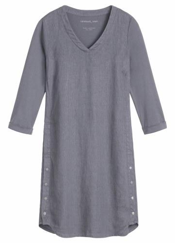Sandwich Linen Jersey Dress