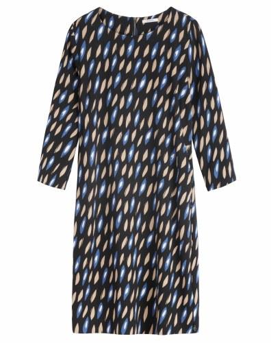 Sandwich Oval Print Dress