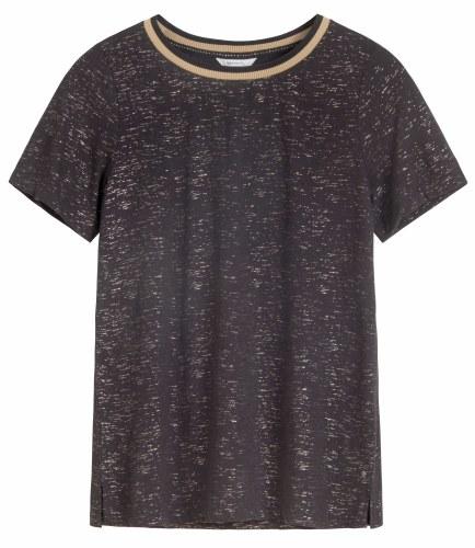 Sandwich Cotton Slub T-Shirt