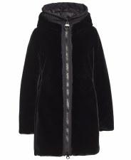 Creenstone Hooded Faux Fur Coat (6930)