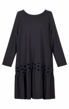 Alembika Flock Spot Dress