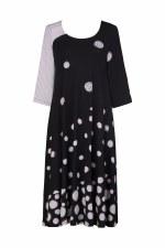 Alembika Spiral Stripe Dress