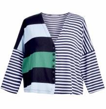 Alembika Stripe Jersey Jacket