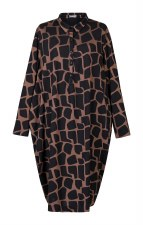 Alembika Giraffe Jersey Dress