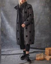 Crea Concept Spot Flock Coat
