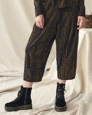Crea Concept Bark Flocked Trousers