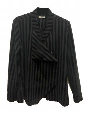 Crea Concept Velvet Strip Jacket
