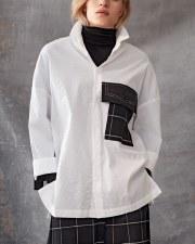Crea Concept Patchwork Oversize Shirt