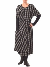 Crea Concept Madras Check Dress (30043)