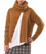 Crea Concept Assymetric Textured Cardigan (30152)