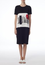 Crea Concept Jersey Print Dress