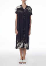 Crea Concept Linen Print Dress