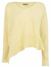 Crea Concept Assymetric Knit Top