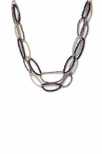 Envy Jewellery Crystal Loop Necklace