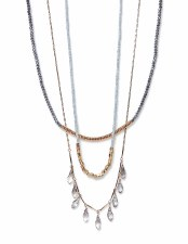Envy Jewellery Diamante multi Necklace
