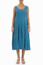 Grizas Sleeveless Silk Dress