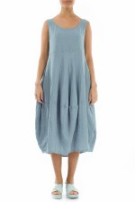 Grizas Sleeveless Linen Dress