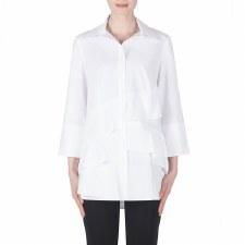 Joseph Ribkoff Frilled Shirt (183425)