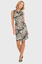 Joseph Ribkoff Zebra Print Dress (193012X)
