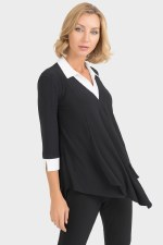 Joseph Ribkoff Layered Tunic
