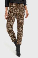 Joseph Ribkoff Animal Print Trousers (193552)