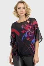 Joseph Ribkoff 2 piece Flower Top (193569)