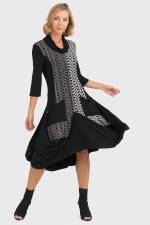 Joseph Ribkoff Cowl Neck Dress (193743)