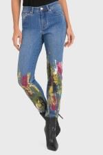 Joseph Ribkoff Brush Strokes Jeans (193992)