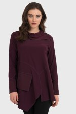 Joseph Ribkoff Zip Neck Tunic