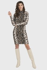 Joseph Ribkoff Snake Print Dress