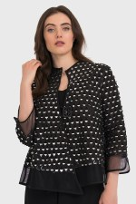 Joseph Ribkoff Cut Out Short Jacket