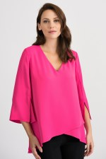 Joseph Ribkoff V Layered Top (201085)