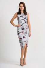 Joseph Ribkoff Old Rose Fitted Dress (201222)