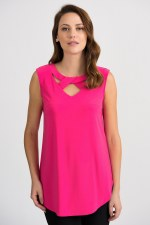 Joseph Ribkoff Cross Neck Top (201284)