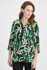 Joseph Ribkoff Jungle Zip Tunic (201422)
