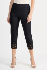 Joseph Ribkoff Crochet Pull On Trousers (201437)