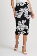 Joseph Ribkoff Leaf Skirt (201525)