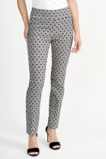 Joseph Ribkoff Spot Checked Trousers