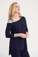 Joseph Ribkoff One Shoulder Top