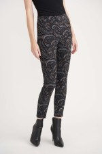 Joseph Ribkoff Paisley Pull On Trousers
