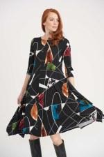 Joseph Ribkoff Wondow Pane Dress