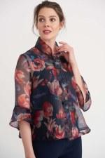 Joseph Ribkoff Floral Print Jacket